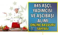 İŞKUR 845 aşçı alımı için yeni iş ilanları yayımladı! Aşçı, Aşçı yardımcısı, aşçıbaşı online başvuru ilanı