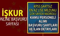 İŞKUR ETİ, MEB KPSS şartsız daimî personel alım ilanı! 94 Kamu personeli alımı yapılacak!