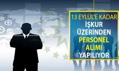 İŞKUR Üzerinden 13 Eylül'e Kadar Adalet Meslek Personeli Alımı Yapılıyor ! Genel Şartlar ve Online Başvuru Ekranı