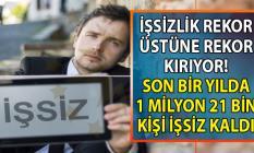 İşsizlik 3,5 puan artarak, yüzde 21,9'a yükseldi! CHP'li Öztrak TÜİK işsiz sayısı rakamlarını açıkladı!