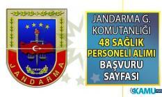 Jandarma Genel Komutanlığı'na 9 Ağustos'a kadar en az lise mezunu 48 sağlık personeli alımı başvuru ilanı