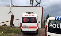 Kocaeli'nin Gebze İlçesinde, Bir Firmaya Ait Arıtma Tesisinde Patlama! 1 İşçi Yaralandı!