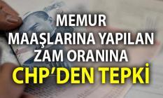 Memur maaşlarına yapılan zam oranına CHP'li Veli Ağbaba'dan tepki geldi.