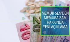 Memur-Sen Genel Başkanı Ali Yalçın'dan Memura Zam Hakkında Yeni Açıklama!