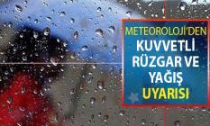 Meteoroloji'den Kuvvetli Rüzgar ve Yağış Uyarısı Geldi