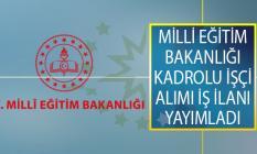 Milli Eğitim Bakanlığı (MEB) DPB Üzerinden Kadrolu İşçi Alımı İş İlanı Yayımladı!