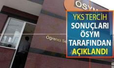 Osym.gov.tr YKS Tercih Sonuçları Açıklandı ! 2019 YKS Tercih Sonucu Sorgulama Sayfası