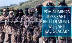 Özel Harekat Polisi (PÖH) Alımında KPSS Şartı Belli Olmuştu, PÖH Alımında Yaş Şartı Kaç Olacak?