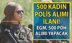 Polis Akademisi 25. Dönem POMEM Özel Harekât (PÖH) branşından 500 kadın polis alımı başvuru şartları