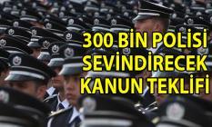 Polislere 3 vardiyalı çalışma kanun teklifi verildi! Polislerin mesai saatlerinin yeniden düzenlenmesi istendi