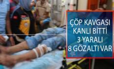 Şanlıurfa'da Komşuların Çöp Kavgası Kanlı Bitti! 3 Kişi Yaralandı, 8 Kişi Gözaltına Alındı