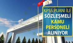 Selçuk Üniversitesi KPSS Puanı İle Sözleşmeli Kamu Personeli Alımı Yapıyor