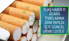 Yeni Sigara Zammı Sonrası Ağustos 2019 Güncel Sigara Fiyatları listesi