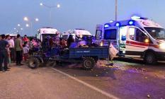Siirt, Gökçebağ Beldesinde Tarım İşlerini Taşıyan Araç Devrildi! 13 Kişi Yaralandı