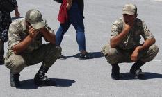 Sivas 5'inci Piyade Eğitim Tugayı General Şükrü Kanatlı Kışlası'nda Yemin Töreninde Yürek Burkan Olay!