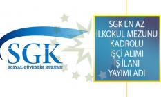 Sosyal Güvenlik Kurumu Başkanlığı (SGK) DPB'den İlan Yayımladı! En Az İlkokul Mezunu Santralci, Aşçı ve Temizlik Görevlisi Alımı Yapıyor