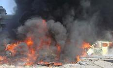 Suriye'nin Azez İlçesinde Korkunç Patlama! Ölü ve Yaralılar Var
