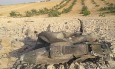 Suriye'nin Kuzeybatısında İdlib Kentinde Suriye Ordusuna Ait Savaş Uçağının Düşürüldüğü İddiası!