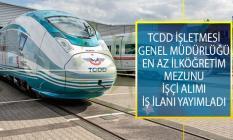 TCDD İşletmesi Genel Müdürlüğü En Az İlköğretim Mezunu Adaylar Arasından Demiryolu Hattı Bakım Onarımcısı Alımı İş İlanı Yayımladı!