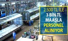 TÜLOMSAŞ 2 Bin 500 TL ile 3 Bin TL Arasında Maaşla Kamu Personeli Alımı Yapıyor - İŞKUR 26 Ağustos İş İlanı