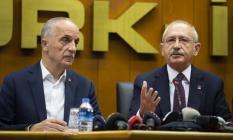 Türk-İş ve CHP Lideri Kemal Kılıçdaroğlu, kıdem tazminatı ve işçi maaşı zam teklifi hakkında görüş bildirdi