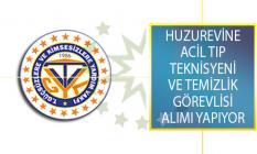 Türkiye Güçsüzler Ve Kimsesizlere Yardım Vakfı İlan Yayımladı! Huzurevine Acil Tıp Teknisyeni Ve Temizlik Görevlisi Alımı Yapıyor!