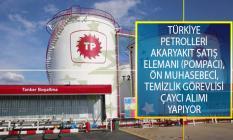 Türkiye Petrolleri Dağıtım Şirketi Akaryakıt Satış Elemanı (Pompacı), Ön Muhasebeci, Temizlik Görevlisi ve Çaycı Alımı İş İlanları Yayımladı!