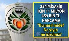 Veli Ağbaba Malatya Büyükşehir Belediyesi'nde ki 11 milyon 459 bin TL'lik skandal misafir harcaması hakkında konuştu