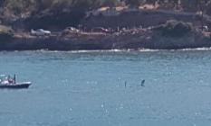 Yunanistan'ın Poros Adası Yakınlarında Elektrik Tellerine Çarpan Helikopter Suya Düştü! 1 Ölü, 2 Kayıp