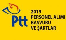 2019 PTT personel alımı başvurusu ve şartları