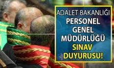Adalet Bakanlığı A-2019 dönemi için 1.300 hâkim ve savcı alımı yapılacak!