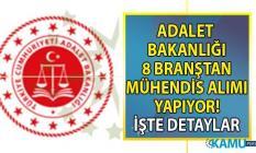 Adalet Bakanlığı KPSS 70 taban puanı ile 07 Ekim'e kadar çok sayıda personel alımı yapacak! Hangi branşlardan mühendis alımı yapılacak?