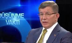 Ahmet Davutoğlu'ndan son dakika açıklaması