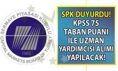 Ankara Sermaye Piyasası Kurulu Başkanlığı (SPK) personel alımı için sınav duyurusu yayınladı!