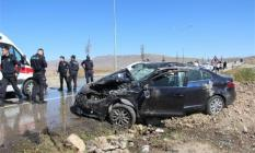Erzincan'da eşini askere teslim ettikten sonra kızıyla trafik kazası geçirip öldü!