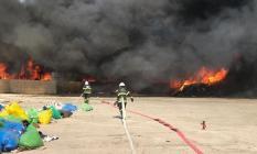 Flaş Haber: Kırıkkale'de geri dönüşüm fabrikası yandı!