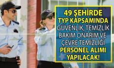İŞKUR TYP kapsamında okullara güvenlik ve çevre temizliği alanında 693 iş ilanı yayınladı