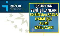 İŞKUR işçi alımı için yeni iş ilanları yayınlandı! İŞKUR'dan yeni duyurular!..