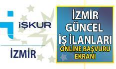 İŞKUR İzmir güncel iş ilanları! İzmir için 1.192 yeni iş ilanı yayınlandı! 4 Bin personel ve işçi alımı yapılacak