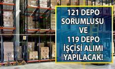 İŞKUR tarafından 240 depo sorumlusu ve depo işçisi alınacak! Hangi şehirlerde işçi alımı yapılacak?