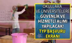 İŞKUR TYP kapsamında İlköğretim, lise ve üniversitelere güvenlik görevlisi ve temizlik personeli alımı! 2019 TYP başvuru şartları ve iş ilanları!