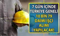 İŞKUR vasıflı vasıfsız daimi 10 bin işçi alımı başvuruları ne zaman başlıyor? İŞKUR 12 Eylül güncel iş ilanları yayınlandı!