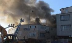 İstanbul'da Son dakika! Zeytinburnu'nda yangın