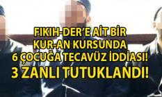 İstanbul Ümraniye'de Kuran kursunda 6 çocuğa tecavüz iddiası! Cinsel istismar'da bulunan 3 zanlı tutuklandı!