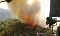 İzmir'de yıldırım 6 noktada birden yangın çıkarttı!