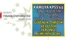 Kamuya Güvenlik, temizlik ve destek personeli alım ilanı! İŞKUR KPSS'siz kamuya personel alımı başvuru nasıl yapılır?
