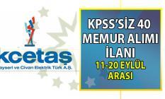 Kayseri ve Civarı Elektrik Türk A.Ş 11- 20 Eylül 2019 arasında 40 personel alımı yapacak!