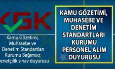 KGK Bağımsız Denetçilik sınav duyurusu yayınladı!
