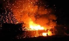 KKTC'de Alarma Geçildi ! Askeri Bölgede Peş Peşe Patlamalar