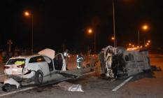 Malatya'da, yolcu minibüsü çevre yolunda trafik kazası geçirdi! 2 ölü 16 yaralı